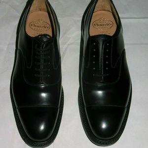 Church's Men's Lancaster Black Leather Oxfords